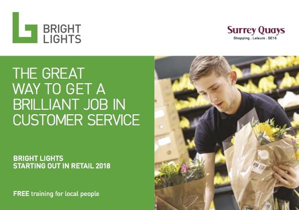 Bright Lights Surrey Quays Retail