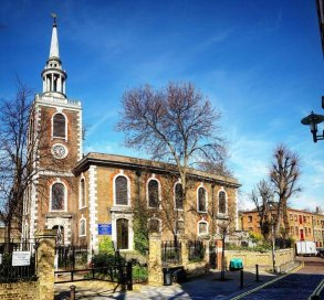 St Mary's Church ROtherhithe