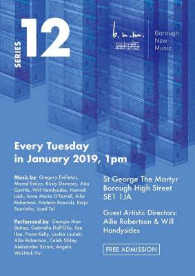 Borough-New-Music-January-2019-programme