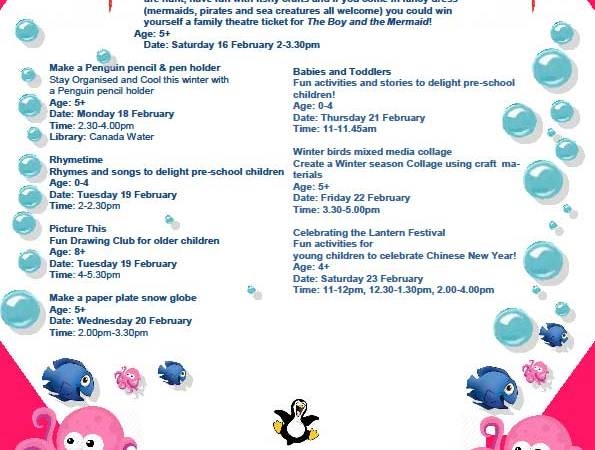 Canada-Water-Library-Half-Term-Activities-for-children