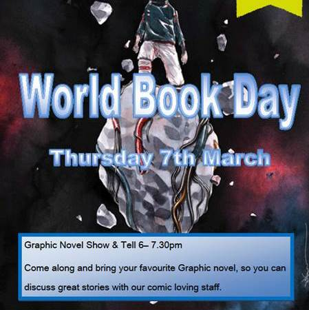 World Book Day 2019 activities in Canada Water Library