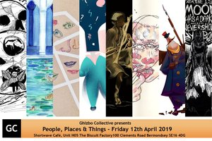 Shortwave Cafe presents People, Places and Things