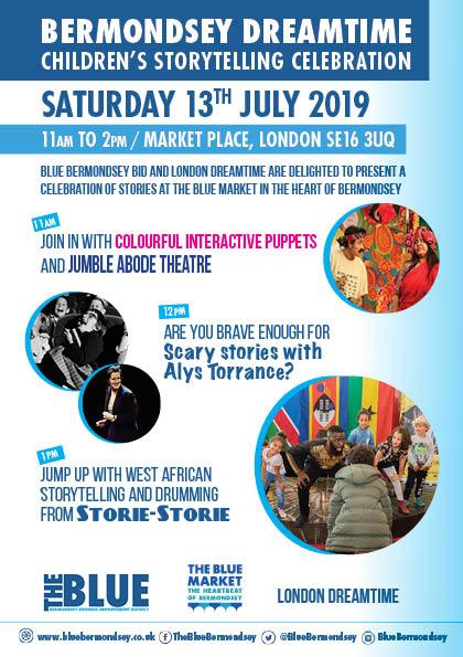 Bermondsey Dreamtime Children's Storytelling Celebration