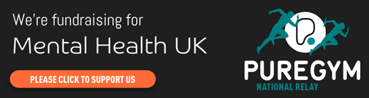 Pure Gym Bermondsey fundraising for Mental Health UK