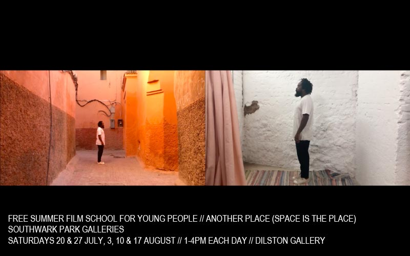 Southwark Park Galleries - Free Summer Film School for Young People