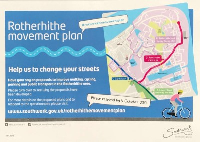Rotherhithe Movement Plan