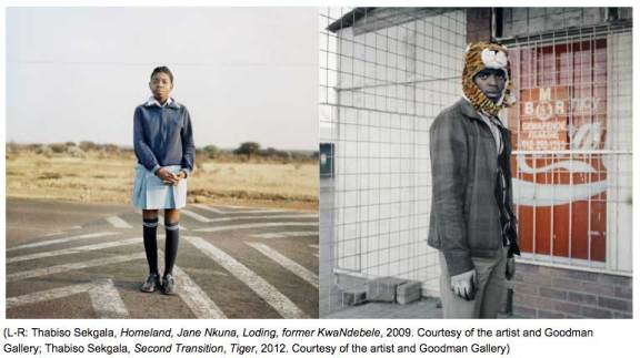 Thabiso Sekgala- Here Is Everywhere - Courtesy of the artist and Goodman Gallery