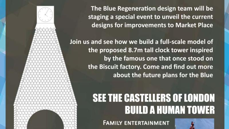 Blue regeneration event