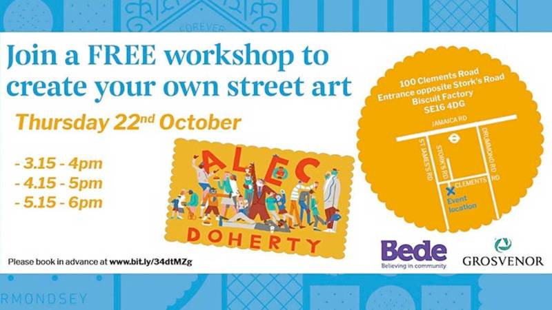 Grosvenor Street Art Workshop October 2020