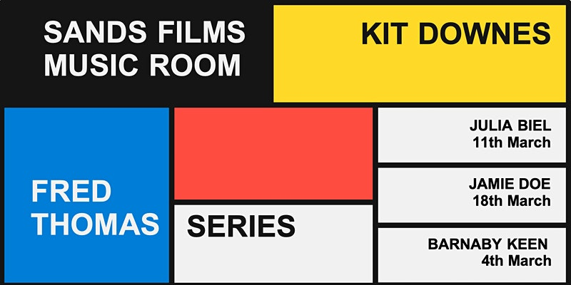 Sands Films Music Room presents Kit Downes – 25 March 2021