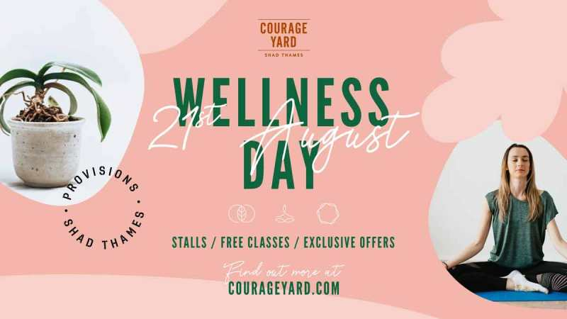 Courage Yard Wellness Day