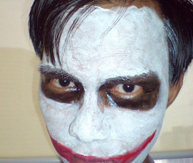 The Jokers White Face