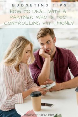 Living with a spouse who is too controlling over money can make you feel trapped rather than an equal partner in the marriage. Here are some suggestions to remedy the issue and get your finances and marriage back on track. | #moneymatters #budgeting #personalfinance
