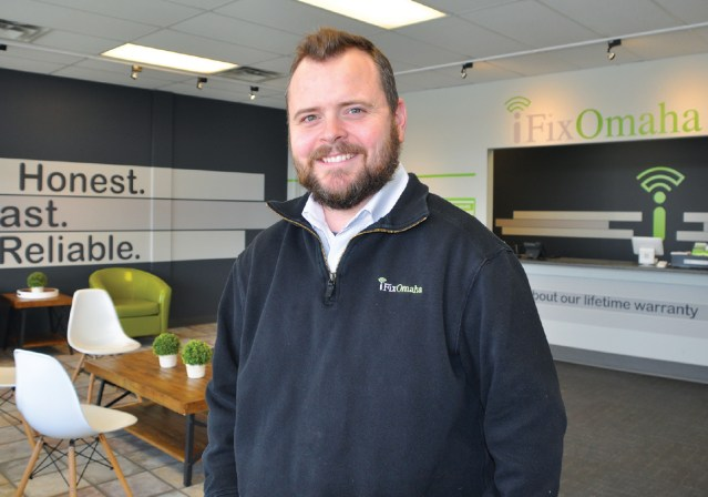 WISE Certification Store Owner iFixOmaha Jason DeWater