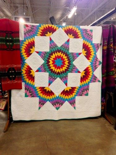 "<a href=""Antique quilt at The Great Southwest Antique Show"">Antique quilt at The Great Southwest Antique Show</a>"