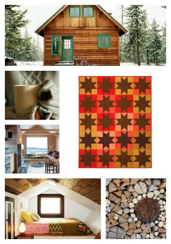 Calico Star Quilt Collage by Wise Craft Handmade