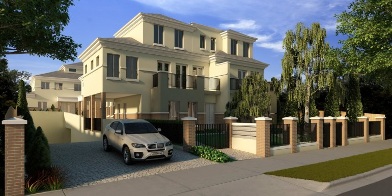 Carlfiled city townhouse