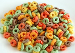200 Calories of Fruit Loops Cereal