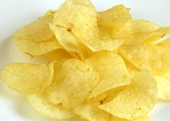 200 Calories of Potato Chips