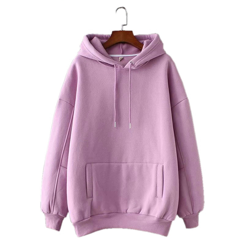 Women's Casual Loose Cotton Hoodie