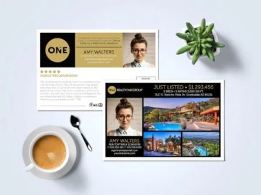 Realty One Group Postcard Template