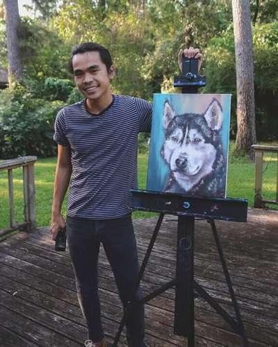Taylor Wise Art Pet Portrait