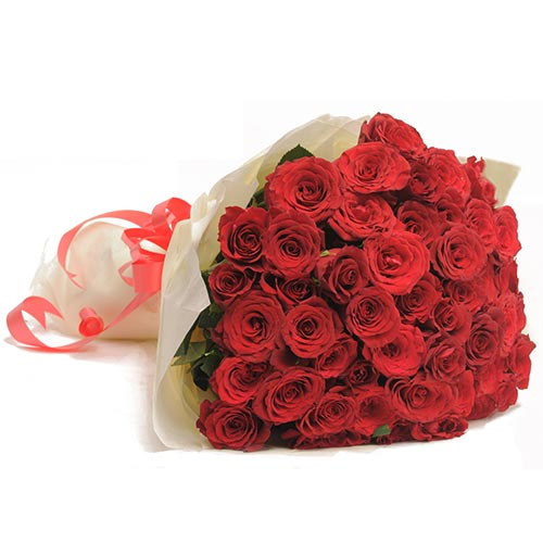Red Hot 50 Red Roses