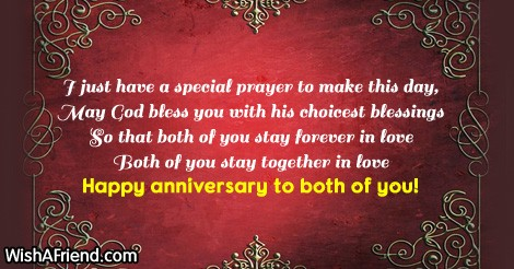 Christian 25th Wedding Anniversary Wishes