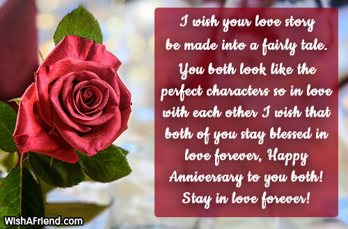 happy anniversary messages page