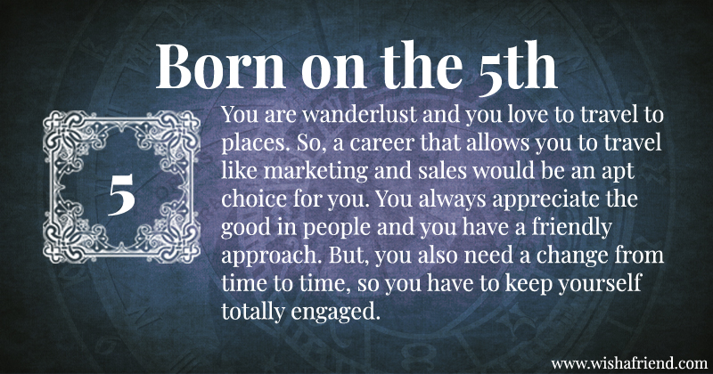 What Does Your Birth date Say About Your Career? - Born on ...