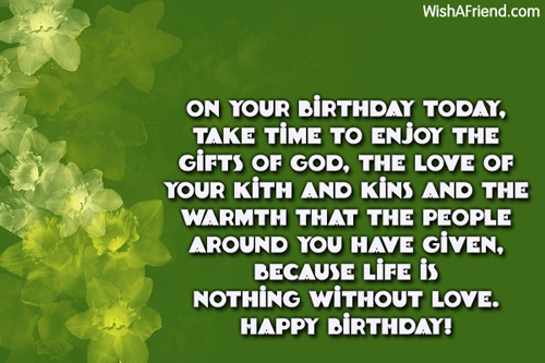Inspirational Birthday Messages Page 2