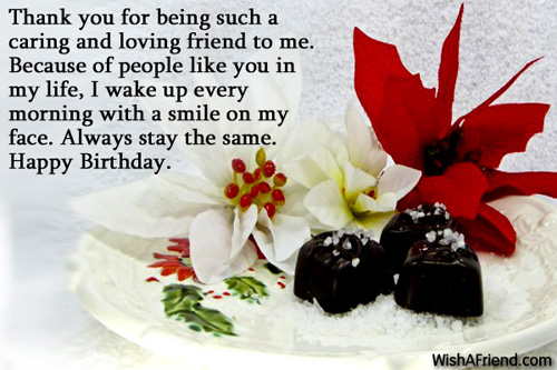 birthday greetings for friends