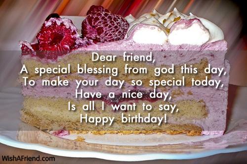 dear friend a special