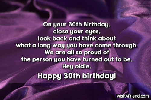 30th Birthday Quotes For Him QuotesGram