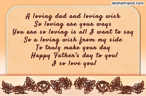 father s day messages