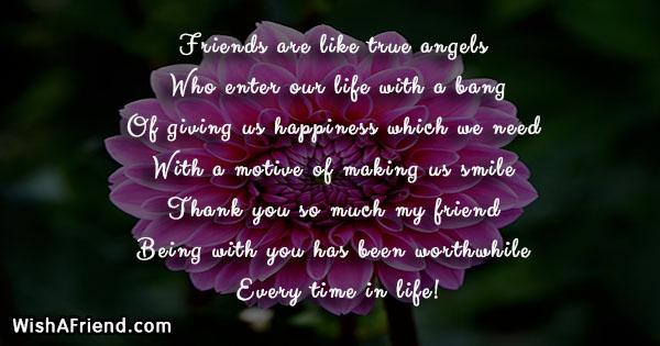 friends are like true