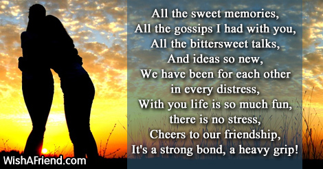 Friendships Wallpapers With Quotes Sweet Friendship Memories Friendship Poem