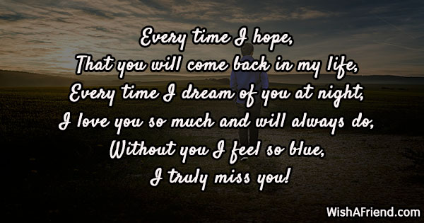 photo Missing Ex Gf Status missing you messages for ex girlfriend