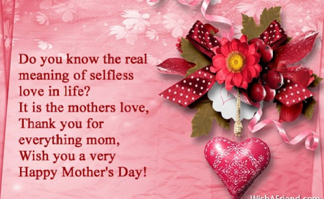 Do You Know The Real Meaning Mother S Day Wish