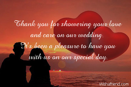thank you for showering