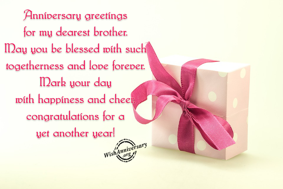 anniversary greetings for my