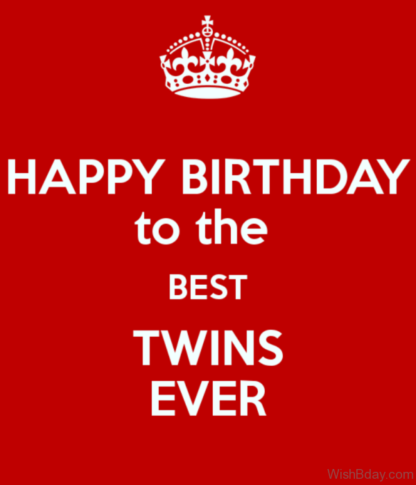 21 Birthday Wishes For Twins