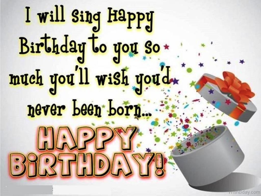 42 Humorous Birthday Wishes