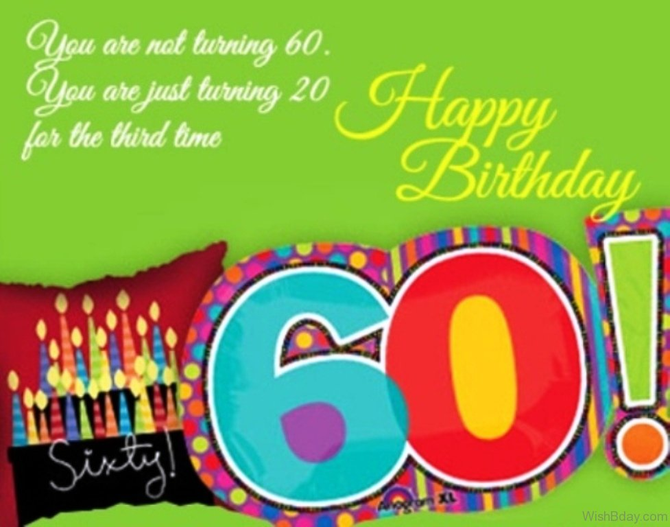 Birthday Wishes Turning 60