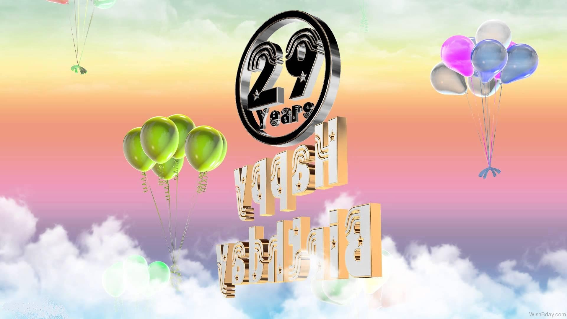43 29th Birthday Wishes
