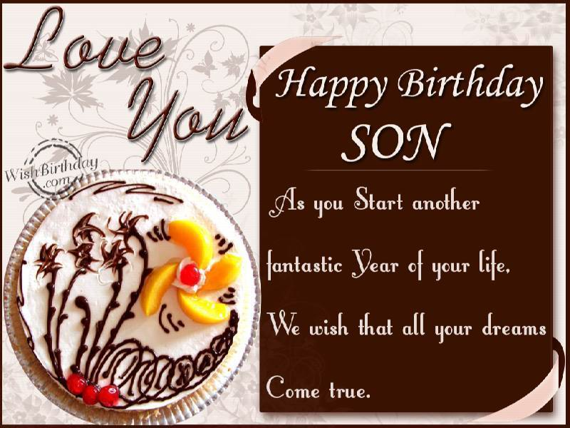 Birthday Cards For Son Greeting Sons Pictures