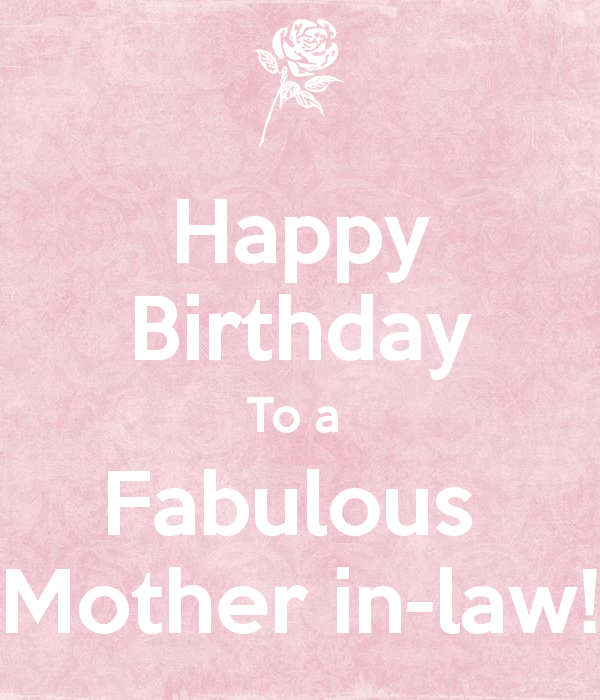 Birthday Wishes For Mother In Law Page 4