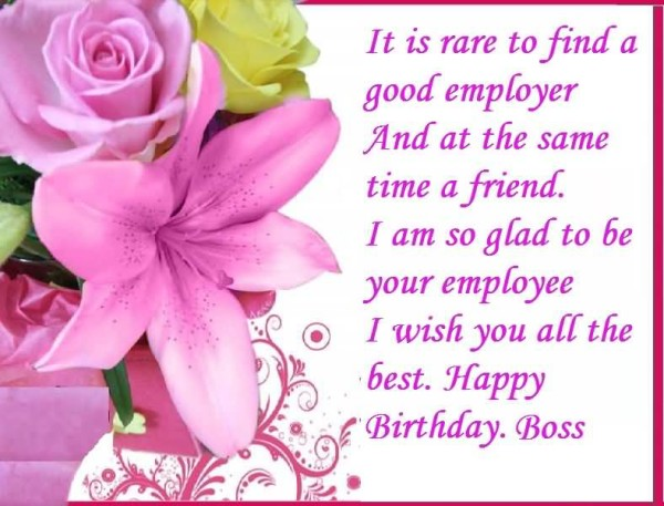 Birthday Wishes For Boss Page 9