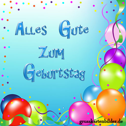 Birthday Wishes In German Page 10