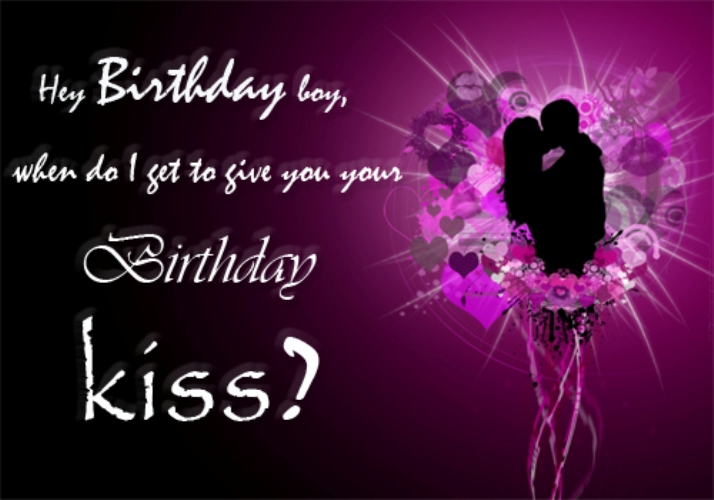 Birthday Wishes With Kiss